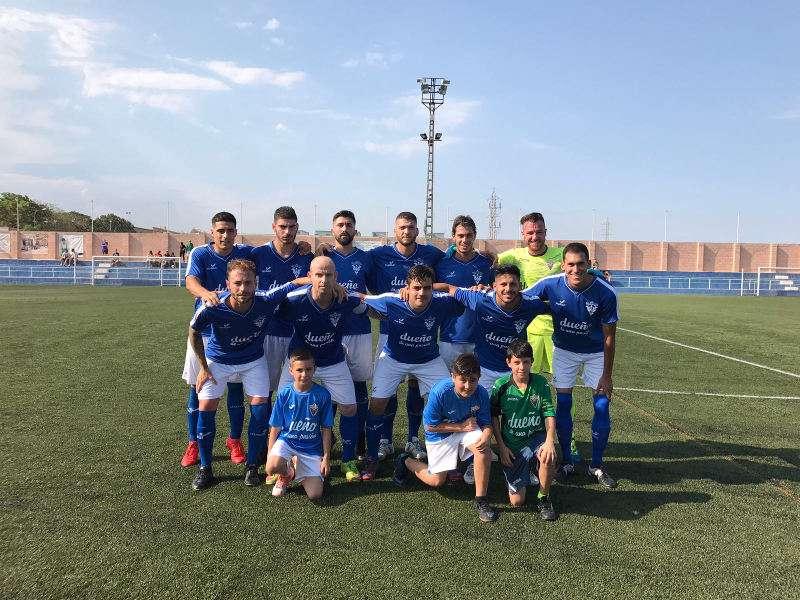 Jugadores del Paiporta CF. EPDA