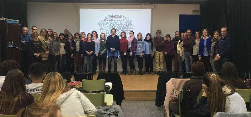Presentación del programa Red coratge de Alfafar. EPDA