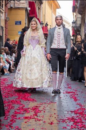 Neus Mira y José de Haro, Miss y Míster Ciudad de Valencia.