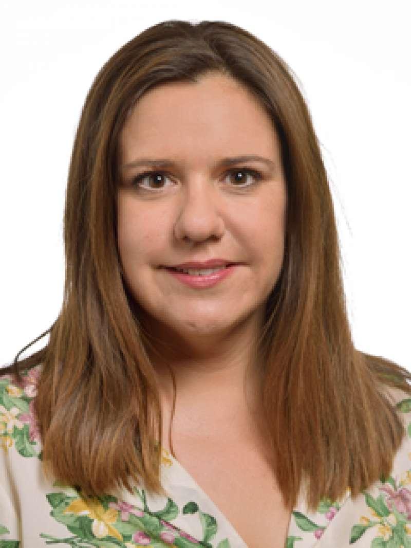 La portavoz adjunta de Compromís en Les Corts, Mònica Àlvaro.