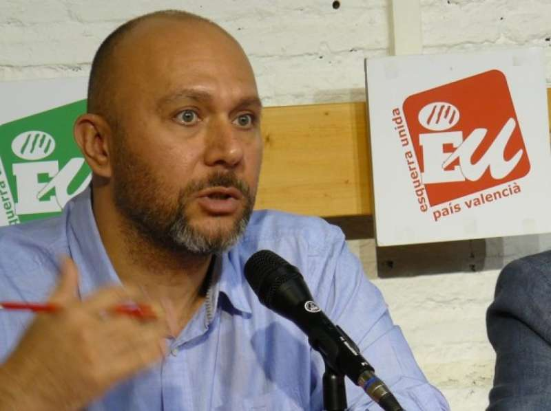 El diputat d?Esquerra Unida, Ricardo Sixto