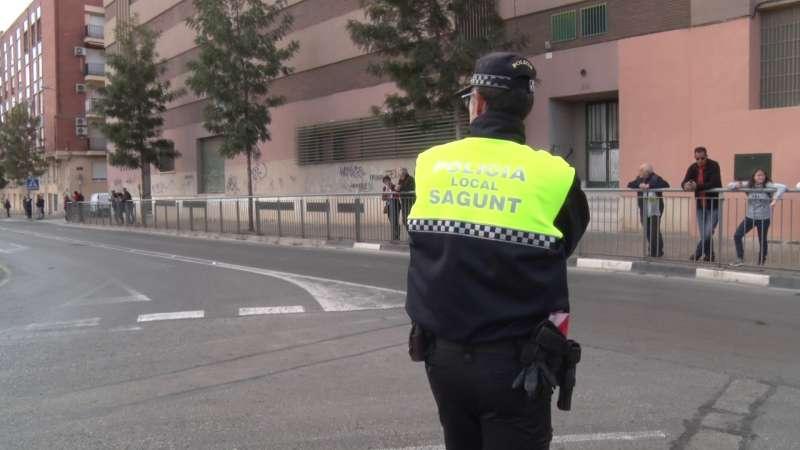 Agente de la Policía Local de Sagunt. EPDA