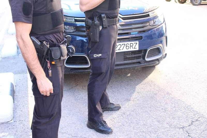 Imagen de archivo de agentes de la Policía Nacional. / EPDA