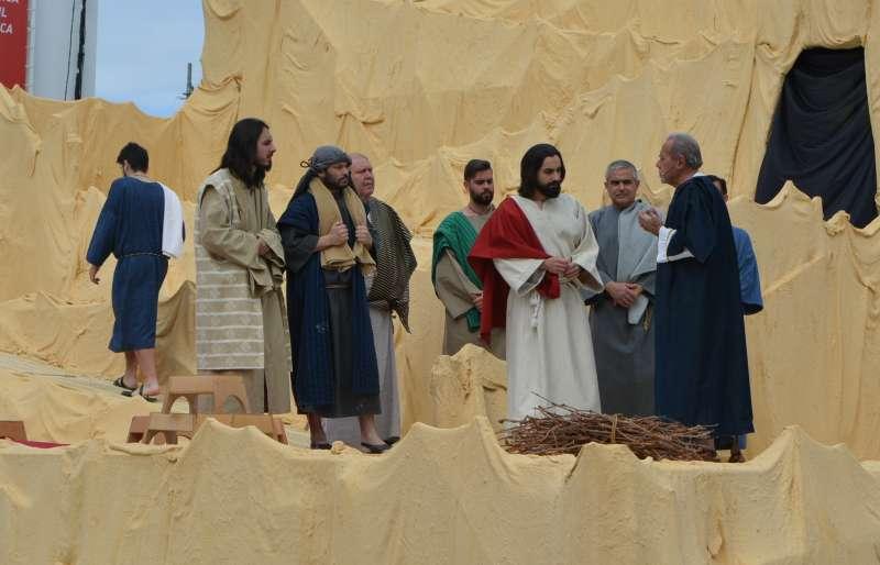 Representación el Domingo de Ramos en Benetússer. EPDA