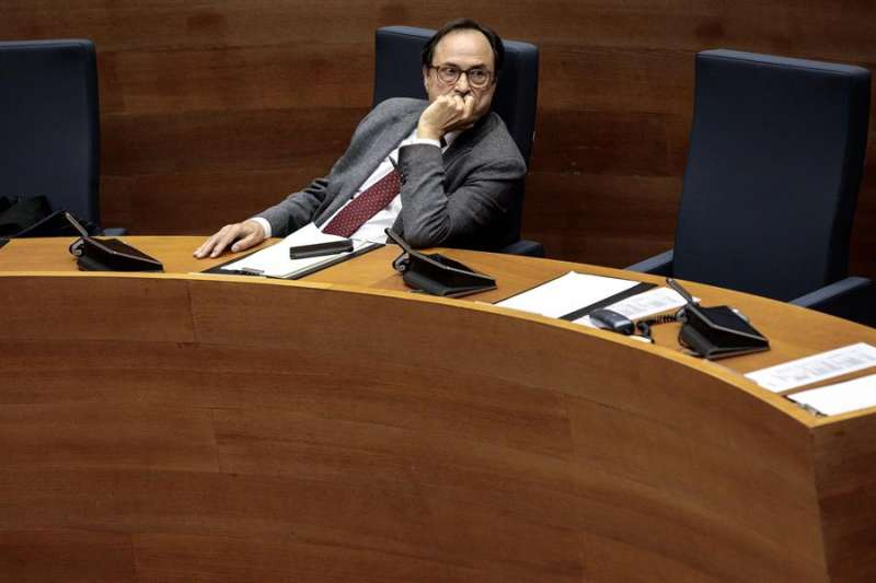 El conseller de Hacienda, Vicent Soler. EFE/ Biel Aliño/Archivo