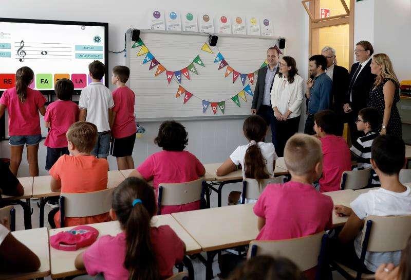 colegio público CEIP 103 de València.EFE/Juan Carlos Cárdenas