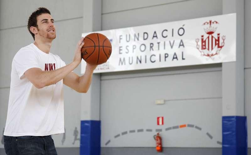 Víctor Claver, jugador de Valencia Basket