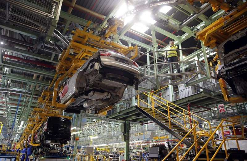 Vista de la planta de Almussafes (Valencia) de Ford España. EFE/Kai Försterling/Archivo