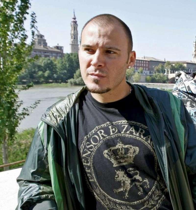 Imagen de archivo del componente del grupo de rap Violadores del Verso, David Gilaberte Miguel, conocido por el apodo de