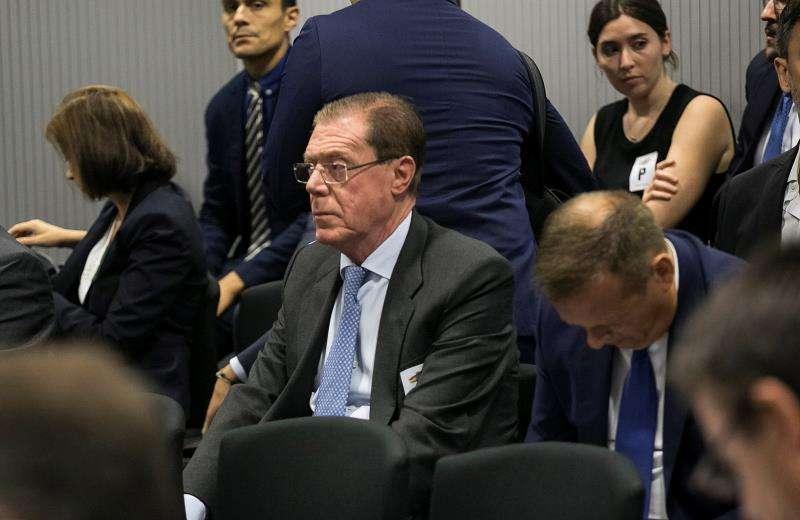 Primera sesión en la Audiencia Nacional del juicio contra la éxcúpula de Banco de Valencia. EFE/Archivo