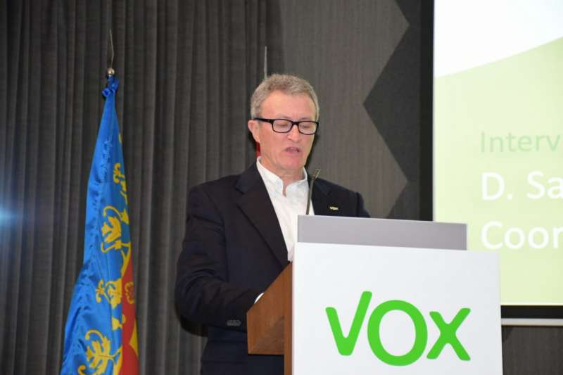 Salvador Benlloch, Portavoz de Vox./ EPDA
