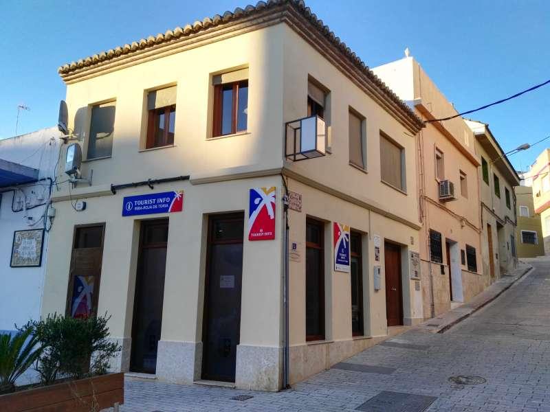 El centro de turismo de Riba-Roja. //EPDA