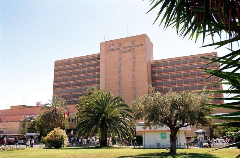 El Hospital La Fe de Valencia. (Archivo) EFE/CARDENAS