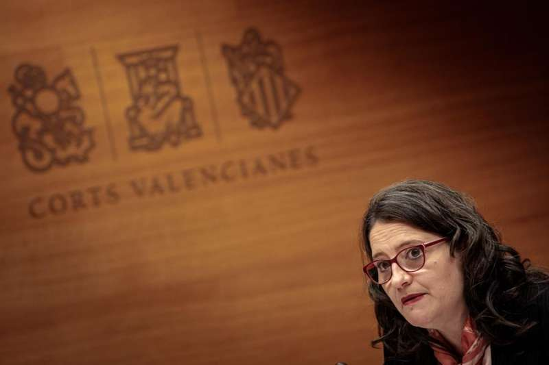 La vicepresidenta y consellera de Igualdad y Políticas Inclusivas, Mónica Oltra, en una imagen reciente. EFE/Biel Aliño