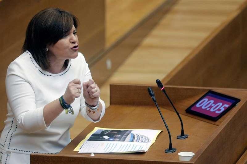 La presidenta del PPCV y portavoz de los populares en Les Corts, Isabel. EFE