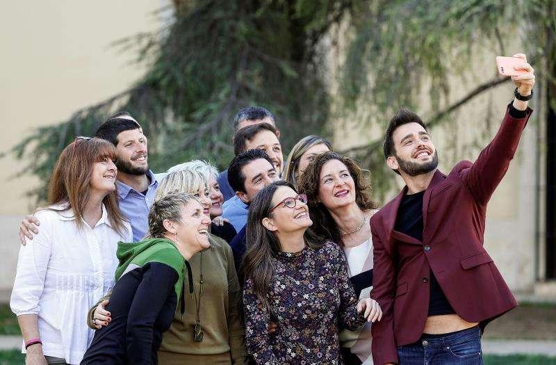 La candidata de Compromís a la Presidencia de la Generalitat, Mónica Oltra. EFE