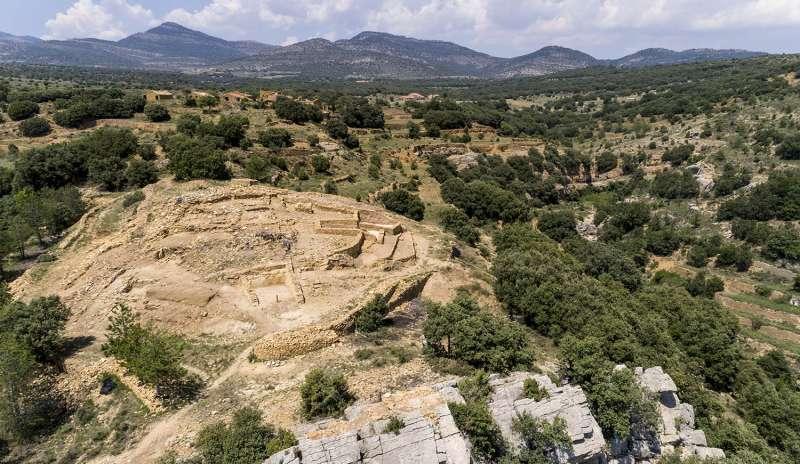 Yacimiento de los Morros en Cortes de Arenoso