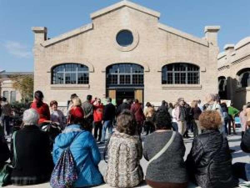 El nuevo espacio sociocultural de la Universitat Popular de Valèncial. EFE