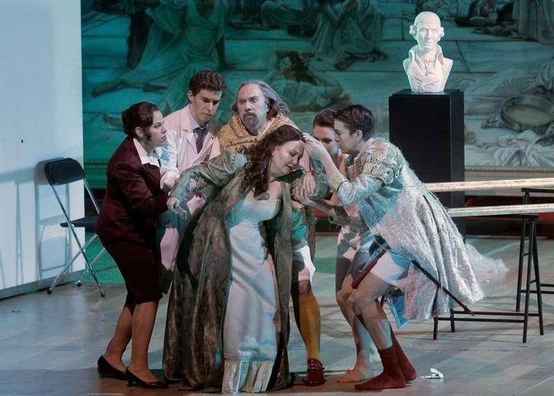 Un momento de la ópera