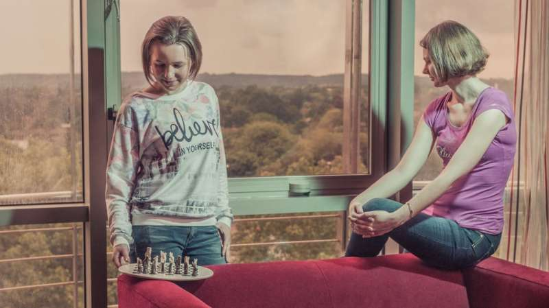 Las hermanas Muzychuk, jugadoras de ajedrez. EPDA
