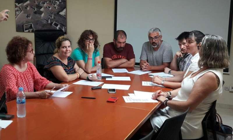 Reunión de las dos formaciones de Paterna.