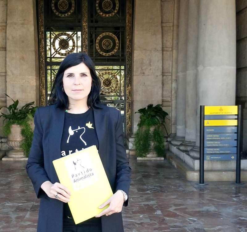 Raquel Aguilar, vicepresidenta de PACMA -EPDA