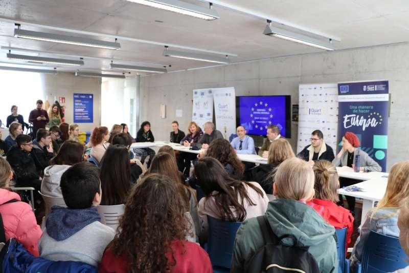 Jornadas donde se debate el rpoyecto. EPDA