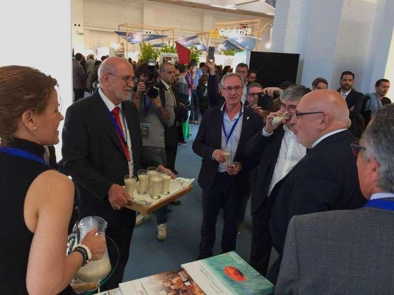 Promoción de la horchata en el salón internacional de turismo