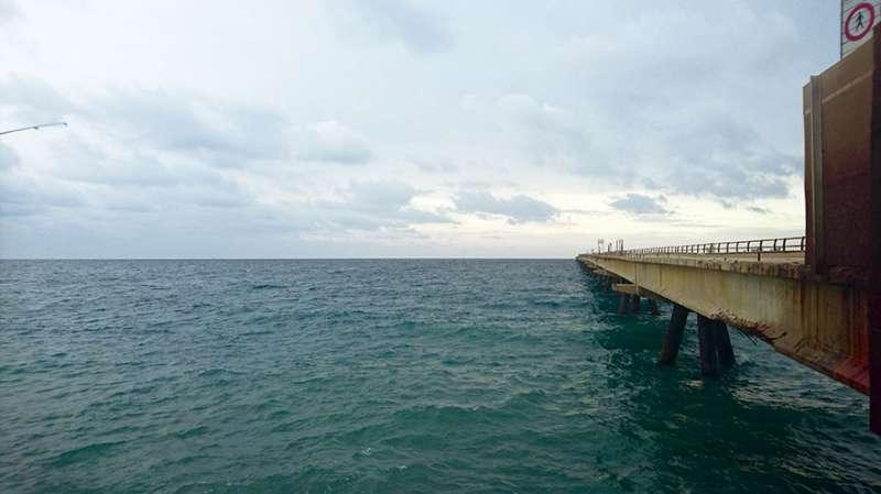 Estado actual del Pantalán del Port de Sagunt. EPDA