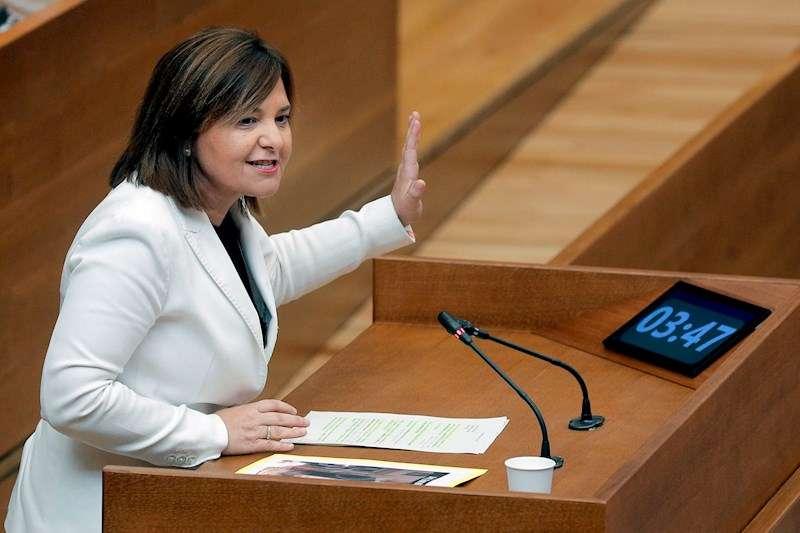 La Portavoz del grupo parlamentario Popular, Isabel Bonig. EFE