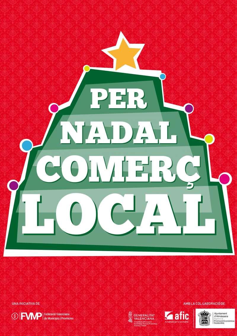 Imagen del cartel de la campaña de Navidad. EPDA
