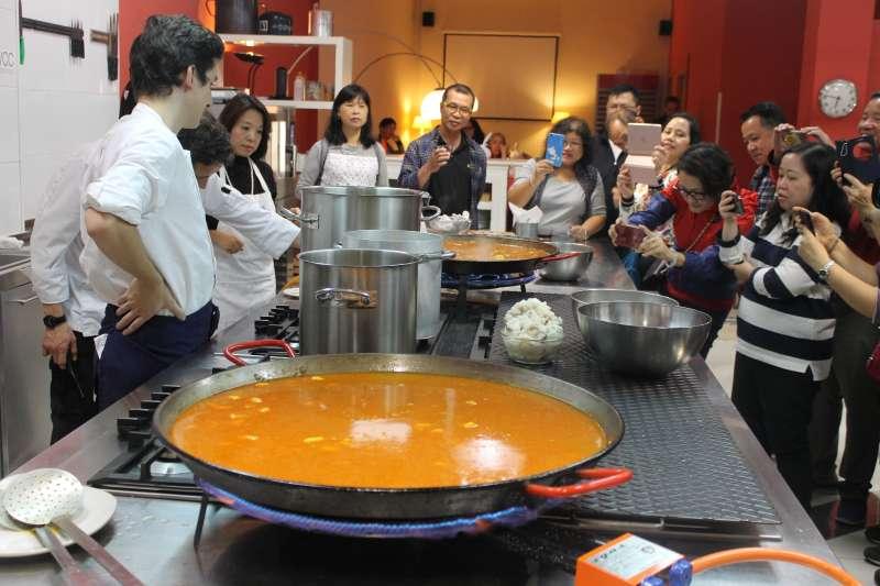 Taller de Valencia Club Cocina. EPDA