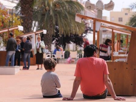 Mercado del libro. Foto: EPDA.
