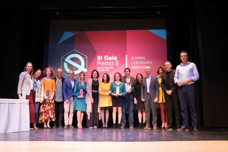 Premiados de la III gala Premios Q. EPDA