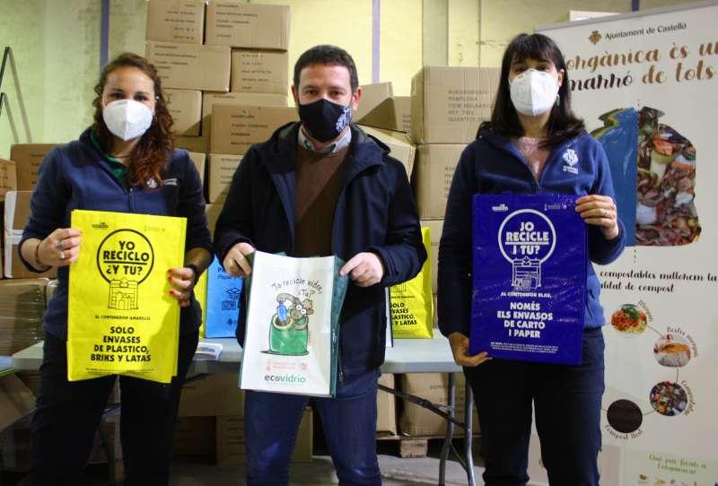 Ignasi Garcia amb els educadors ambientals/EPDA