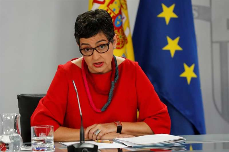 La ministra de Exteriores, Arancha González Laya. EFE
