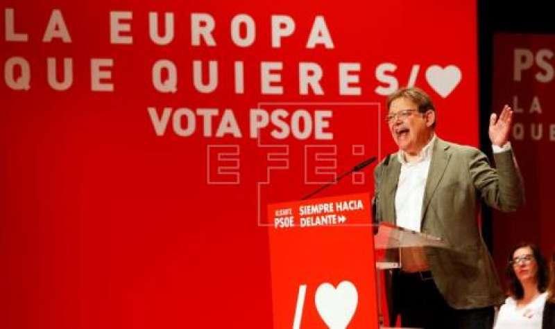 Presidente en funciones de la Generalitat Valenciana, Ximo Puig