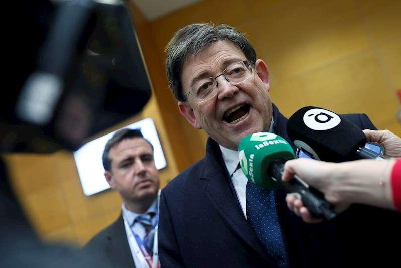 El president de la Generalitat valenciana, Ximo Puig. EFE/ Mariscal