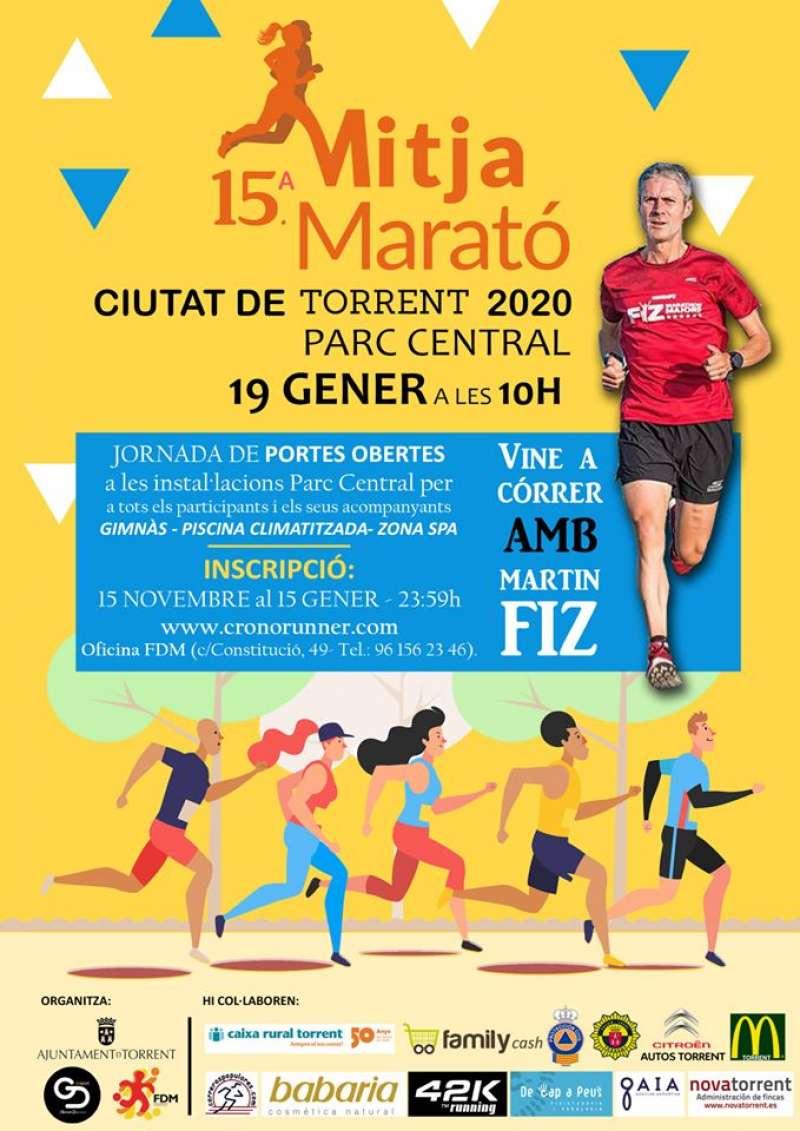 Mitja Marató Torrent. -EPDA