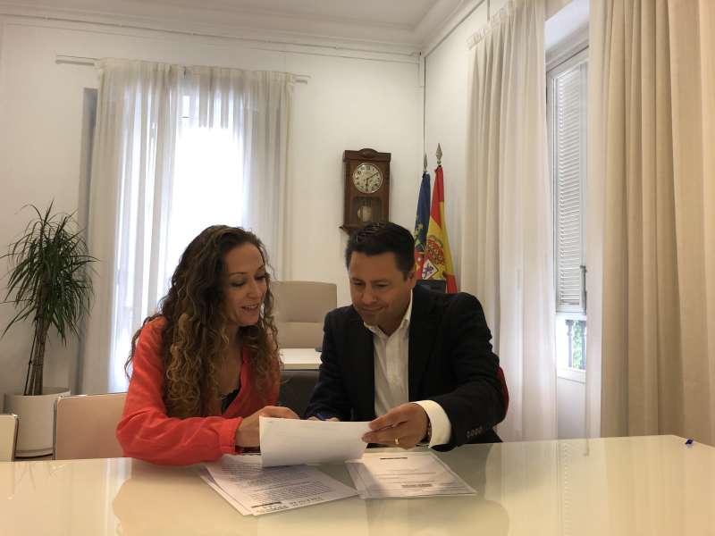 Javier Montero y Rocío Giménez.. EPDA
