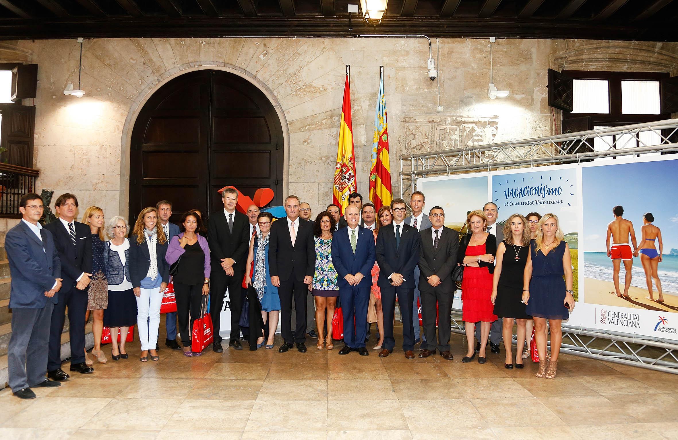 El anuncio se ha producido durante el acto conmemorativo del Día Mundial del Turismo. FOTO: GVA