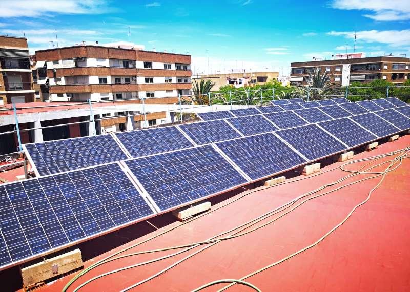 Panells solars de Xirivella