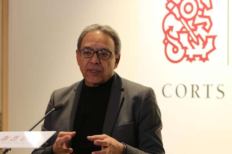 El síndic Manolo Mata. EPDA