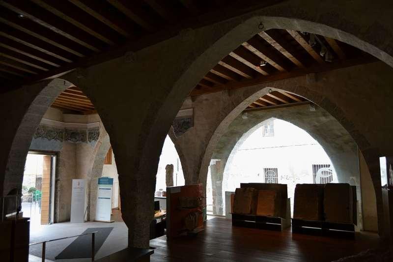 Interior del museu: sala principal. / EPDA