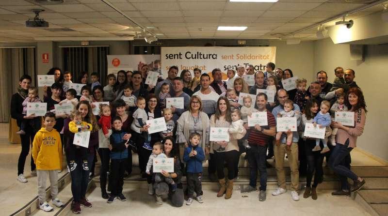 Les families que han rebut el diploma