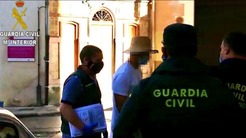 Detención de los implicados en el homicidio en Enguera. EPDA