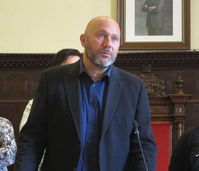 El diputat d?Esquerra Unida al Congrés, Ricardo Sixto. EPDA