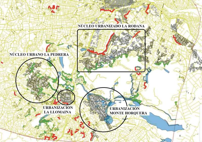Mapa de la zona. EPDA.