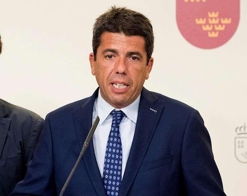 El presidente de la Diputación de Alicante Carlos Mazón. EFE/Archivo