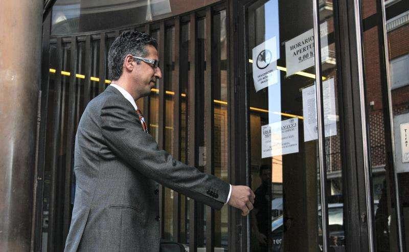 El fiscal Vicente Torres entra a un juzgado. EFE/Archivo